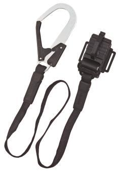 胴ベルト用ランヤード平ロープ縦型 L1